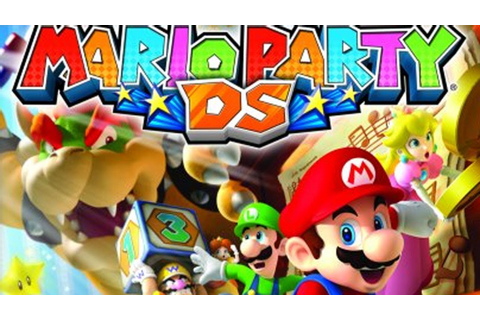 Classic Game Room - MARIO PARTY DS review for Nintendo DS ...