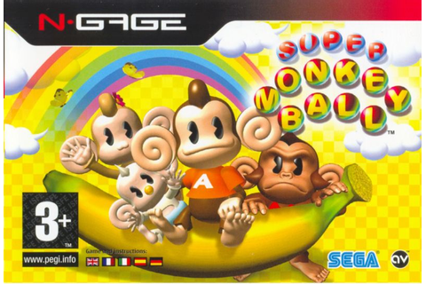 Super Monkey Ball Jr. for N-Gage (2003) - MobyGames