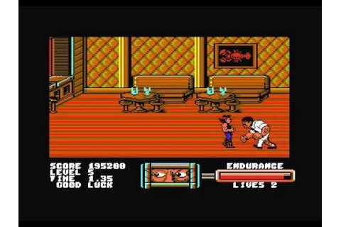 C64 Game: Target Renegade last level + ending + title ...