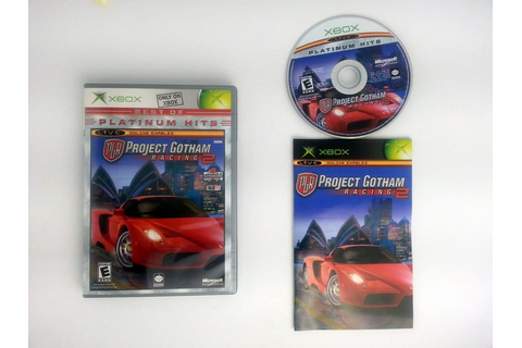 Project Gotham Racing 2 game for Xbox (Complete) | The ...