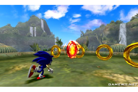 Sonic and the Secret Rings - Download Game Nintendo