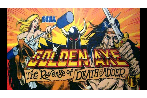 Golden Axe Revenge of Death Adder Arcade 1992 [ HD ] - YouTube