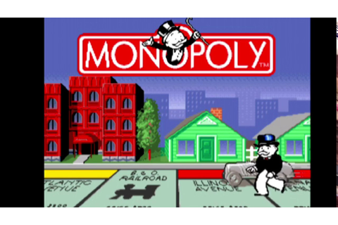 Monopoly SNES full playthrough - YouTube