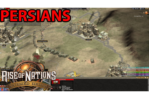 Rise Of Nations : Extended Edition Six Player Skirmish ...
