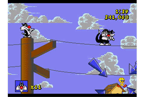 Sylvester - Tweety in Cagey Capers - Download - ROMs ...