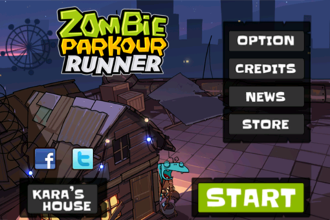 Zombie Parkour Runner: Tap to survive | whatappdawg
