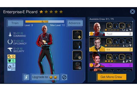 Star Trek Timelines è disponibile su Android e iOS ...