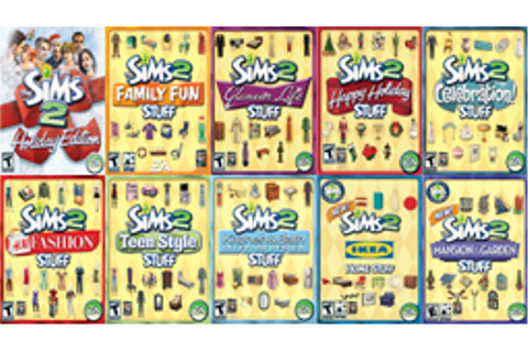 The Sims 2 Stuff packs - Wikipedia