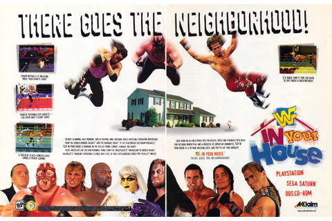 Players Pulse - WWF In Your House - PlayStation & Sega ...