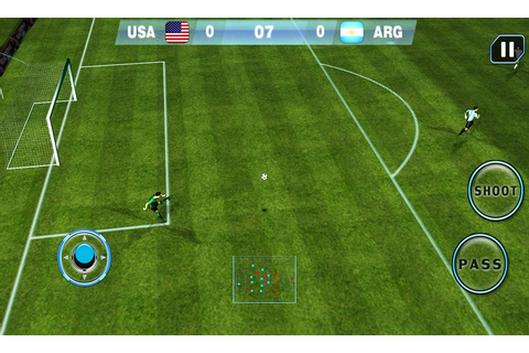 Real Football 2015: Ultimate Soccer Game For Android ...
