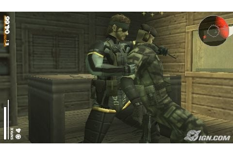 Metal Gear Solid: Portable Ops Review - IGN