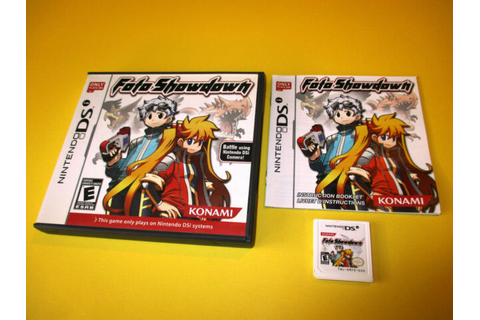 Foto Showdown Nintendo DSi XL Game w/Case & Manual | eBay