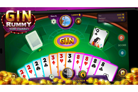 Gin Rummy - Online Free Card Game for Android - APK Download