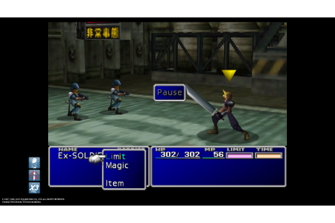PC port of Final Fantasy VII on PS4 includes cheats that ...