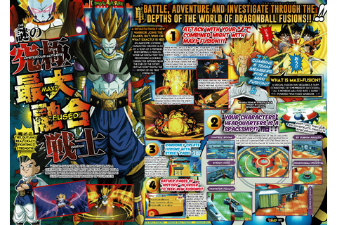 Dragon Ball Fusions looks absolutely insane : dbz