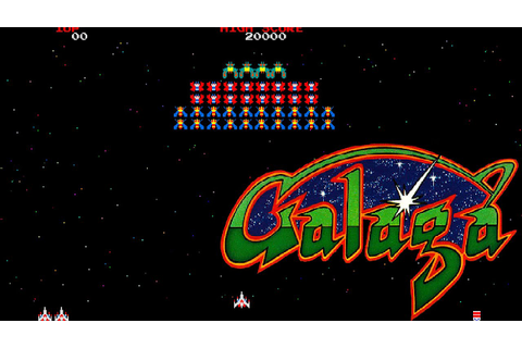 OLD GAMES : GALAGA - YouTube