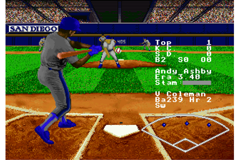 Play RBI Baseball '95 Sega 32X online | Play retro games ...