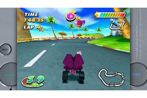 Speed Freaks on a Sony Playstation 1 - YouTube
