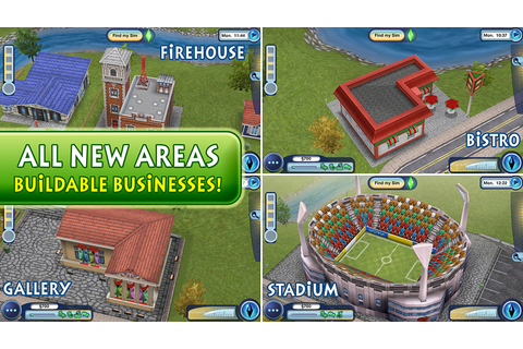 App Shopper: The Sims 3 Ambitions (Games)