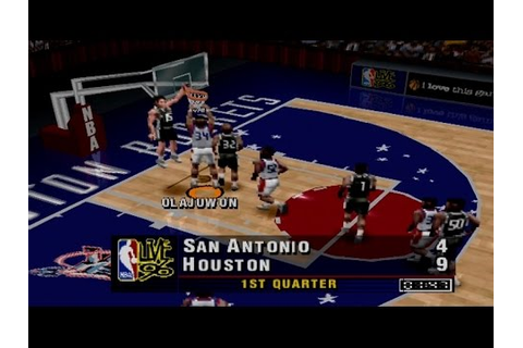 NBA Live 96 Gameplay Exhibition Match (PS1,PSX,PsOne ...