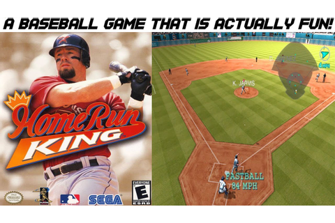 Home Run King - Fun & Challenging Baseball Game - Gamecube ...