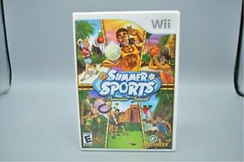 Summer Sports Paradise Island Nintendo Wii Video Game ...