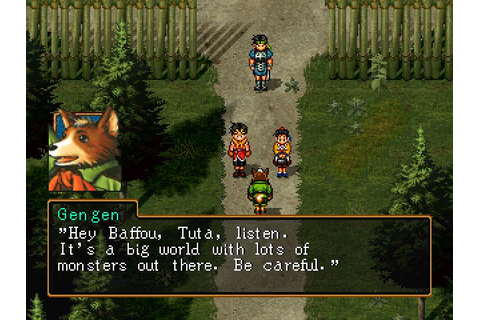 Suikoden II (1998) by Konami PS game