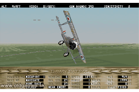 Dawn Patrol Download, PC DOS (zip) :: DJ OldGames