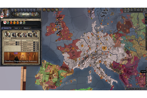 My first ever completed game of Crusader Kings 2! No DLC ...