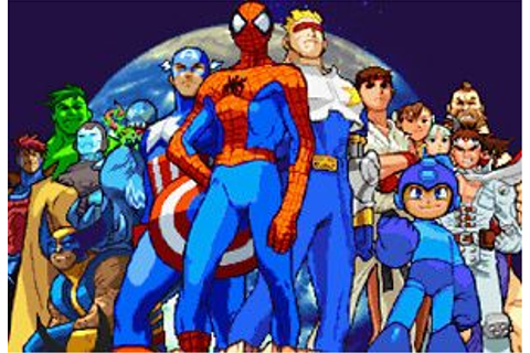 Marvel vs Capcom: Clash of Super Heroes on Miniplay.com