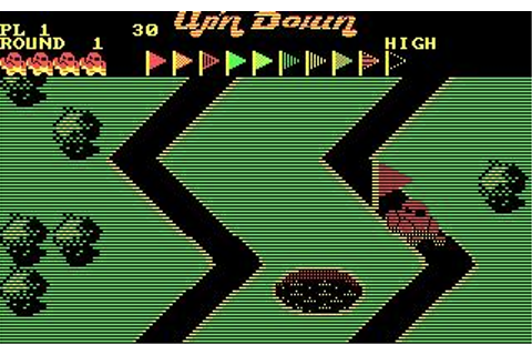 Up 'n Down Download (1987 Arcade action Game)