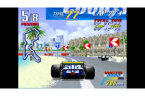 Let's Play a No-Name MAME Game: F1 Grand Prix Star II ...