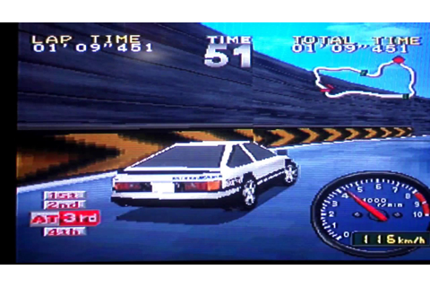 Tokyo Highway Battle (PlayStation 1, 1996) Gameplay - YouTube