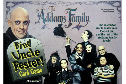 Charles Addams • The Addams Family: Find Uncle Fester ...