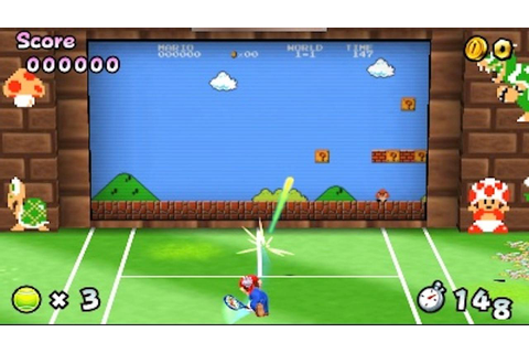 Play Classic Mario Games With A Tennis Racket In Mario ...