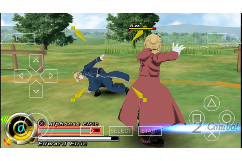 Fullmetal Alchemist BrotherHood PSP ISO Free Download ...
