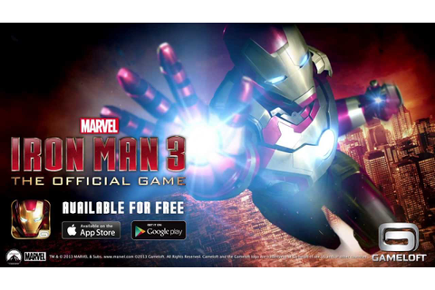 Iron Man 3 - The Official Game - Launch Trailer - YouTube