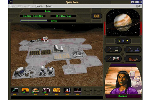 Space Bucks Download (1996 Strategy Game)