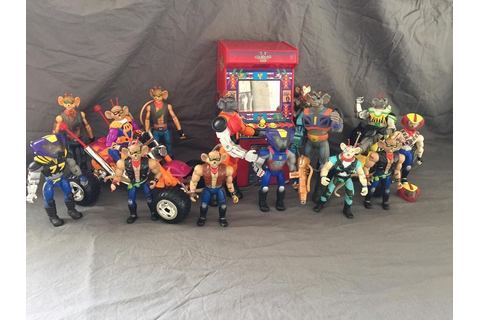 vtg rare biker mice from mars lot rare huge atv off road ...