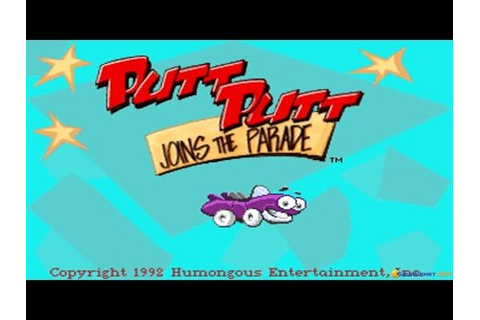 Putt-Putt Joins the Parade gameplay (PC Game, 1992) - YouTube