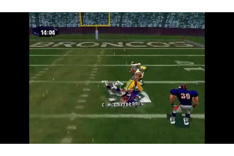 NFL Xtreme ... (PS1) 60fps - YouTube