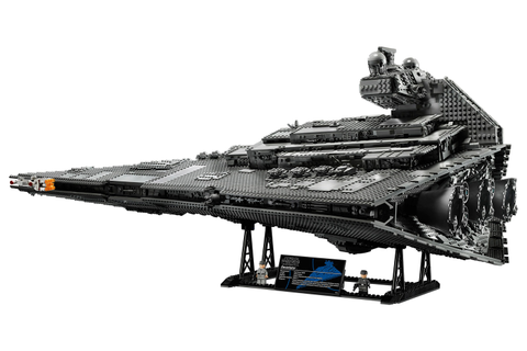 Massive LEGO Imperial Star Destroyer - The Devastator ...