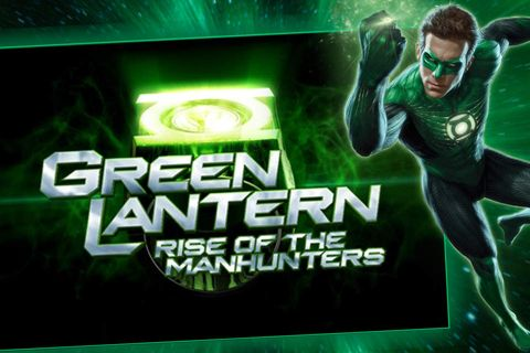 Green lantern: Rise of the manhunters pour iPhone à ...