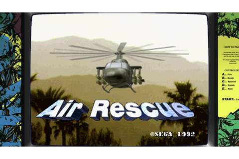 Air Rescue [Arcade][HD-Gameplay 60 FPS] - YouTube
