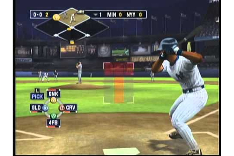 EA Sports MVP Baseball 2003 (X Box) Game Play - YouTube