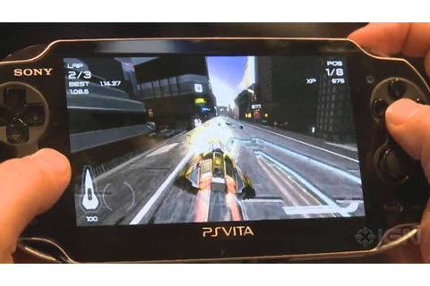 PS Vita WipEout 2048 - E3 2011: Gameplay Off-Screen - YouTube