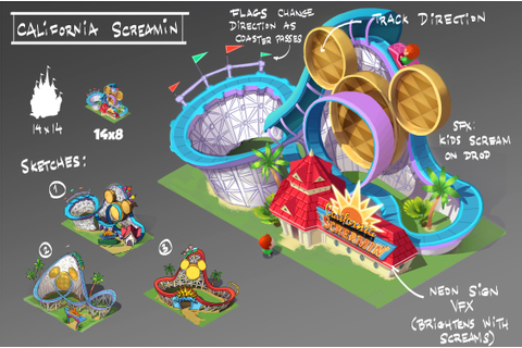 Disney Magic Kingdoms mobile game lets you build the theme ...