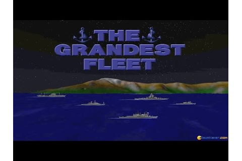 Grandest Fleet, The gameplay (PC Game, 1994) - YouTube