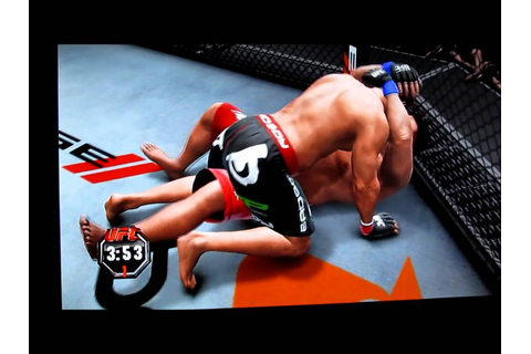 UFC UNDISPUTED 3 XBOX 360 [GAME PLAY] - YouTube