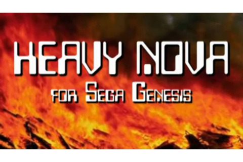 Classic Game Room - HEAVY NOVA review for Sega Genesis ...